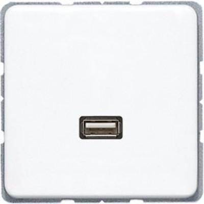 Jung Multimediadose USB alpinweiß MA CD 1122 WW