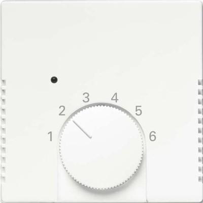 Busch-Jaeger Temperaturreglerabdeckung studioweiß matt 1795 HK-884