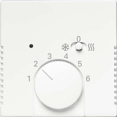 Busch-Jaeger Temperaturreglerabdeckung studioweiß matt 1795 HKEA-884