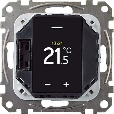 Merten Temperaturregler-Einsatz mit Touch-Display MEG5776-0000