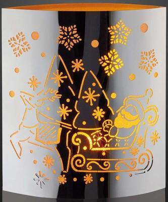 Hellum LED-Deko Weihnachtsmann LEDs gelb 520583