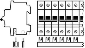 ABB Stotz S&J Sammelschienenblock 10qmm 20x3p. SZ-PSB 4N