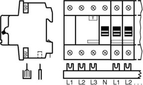 ABB Stotz S&J Sammelschienenblock SZ-PSB 97 N