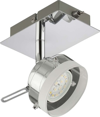Briloner LED-Spot 1-fach g. 1x5 Watt chrom 2807-018