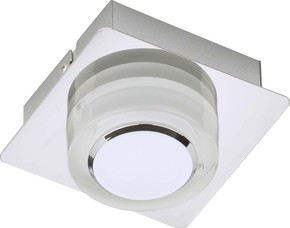 Briloner LED-Wandleuchte 1-fach g. 1x5 Watt chrom 2257-018