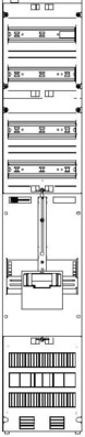 ABN Zählerplatz 1R, 1V, 5-polig ZV19010