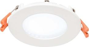 EVN Lichttechnik LED Einbau Panel weiß 4W 4000K 85mm rd. LP RW 083540