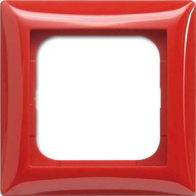 Busch-Jaeger Rahmen 1-fach rot 1721-917