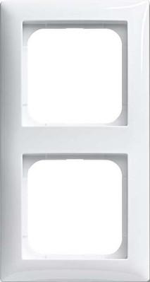 Busch-Jaeger Rahmen 2-fach alpinweiß 1722-914