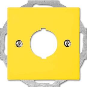 Busch-Jaeger Zentralscheibe gelb f.Datenkommunikation 2533-914-15