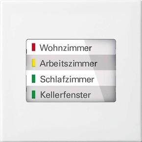 Busch-Jaeger LED-Anzeige WaveLINE alpinweiß 6730-914
