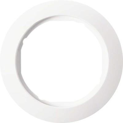 Berker Rahmen 1-fach pws mit Ausschnitt D58mm 138209