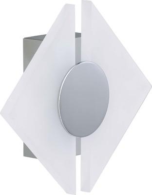 Briloner LED-Wandleuchte chrom 3508-018
