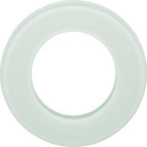 Berker Glasrahmen 1-fach Glas polarweiß 109109