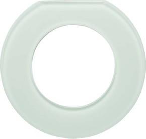 Berker Glas-Endrahmen 1-fach Glas polarweiß 109219