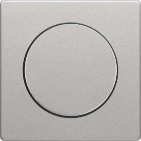 Berker Zentralstück alu/lack Knopf für Drehdimmer 11376084