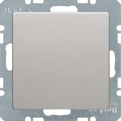 Berker Blindverschluß alu/lack mit Zentralstück 6710096084