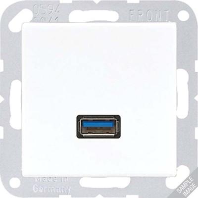 Jung USB-Tragring Schraubbefestigung MA A 1123 AL
