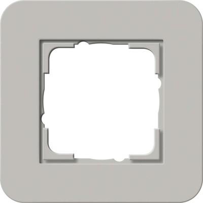 Gira Abdeckrahmen 1-fach ch Grau/Anthrazit 0211422
