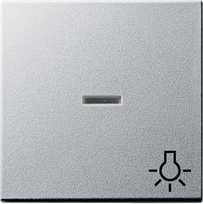 Gira Wippe Licht aluminium m.Fenster,System55 067426