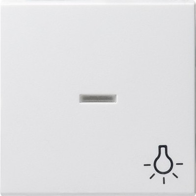 Gira Wippe Licht reinweiß m.Fenster,System55 067427