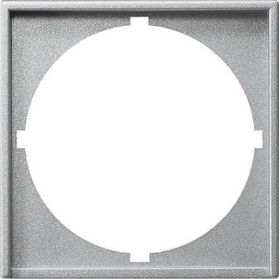 Gira Zwischenplatte (rund) aluminium System55 028126