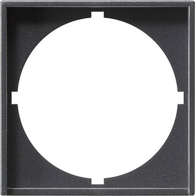 Gira Zwischenplatte (rund) anthrazit System55 028128