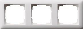 Gira Abdeckrahmen 3-fach reinweiß bruchsicher 021304