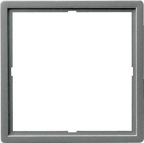 Gira Zwischenplatte (quad) edelstahl Edelstahl 028220