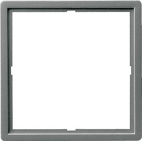 Gira Adapterrahmen edelstahl quadr. 50x50mm E22 028220