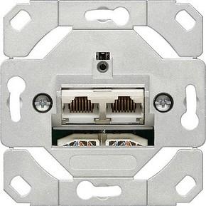 Gira Netzwerk-Anschlussdose E-DAT Cat.6 016600