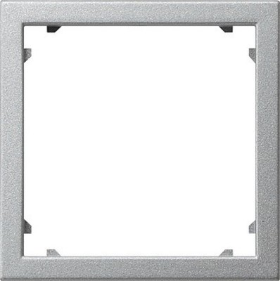 Gira Zwischenplatte 45x45 aluminium System55 028326