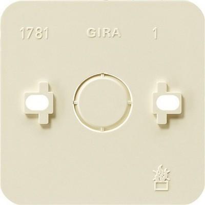 Gira Montageplatte 1-fach cws AP 008113