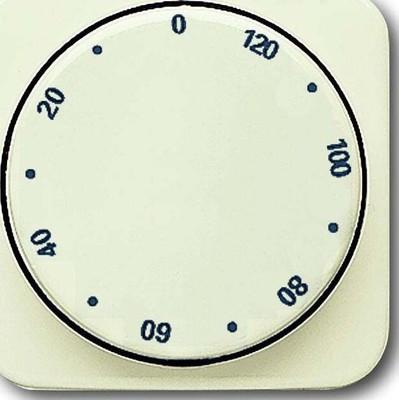 Busch-Jaeger Zentralscheibe weiß Zeitschaltuhr,120Min 1771-212-102