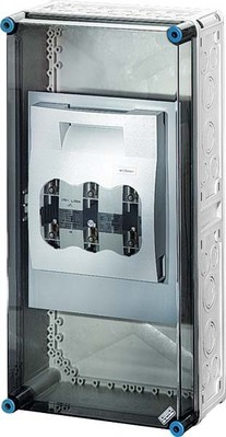 Hensel Sicherungsgehäuse 1xNH2 3p. 400A+PE+N Mi 5452