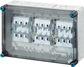 Hensel Sicherungsgehäuse 3xNH00 3p. 125A+PE+N Mi 4350
