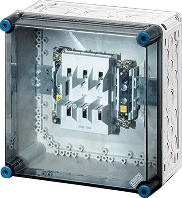 Hensel Sicherungsgehäuse NH00 3p. 125A+PE+N Mi 4205