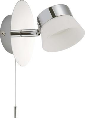 Briloner LED-Bad-Wandleuchte chr/metal-Kunststoff 2209-018