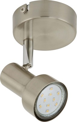 Briloner LED-Spot matt-nickel Metall 2843-012