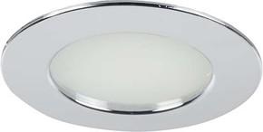 Brumberg Leuchten LED-Einbauleuchte 12V DC, chrom 12109023