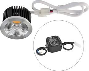 EVN Lichttechnik LED-Einbauleuchte 6000K 230V IP20 C51350N901 cw