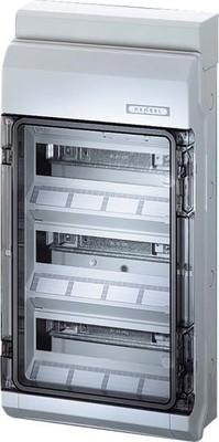 Hensel Automatengehäuse 36TE 3x12x18mm IP65 KV 9336