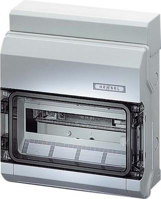 Hensel Automatengehäuse 12TE 12x18mm IP65 KV 9112