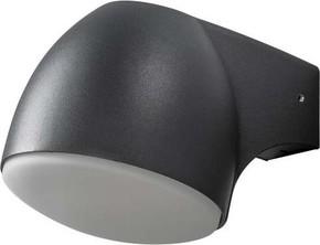 Gnosjö Konstsmide AL LED-Wandleuchte schwarz 7531-750