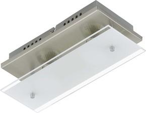 Briloner LED-Deckenleuchte 1-flg.Glas ni/matt 3596-022