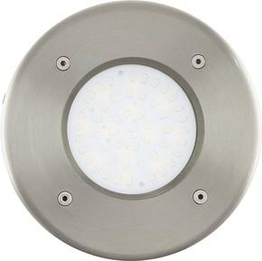 Eglo LED-Bodeneinbauleuchte edelstahl 93482