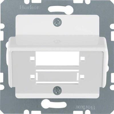 Berker Zentralplatte pws f.LWL-Kupplung 148009