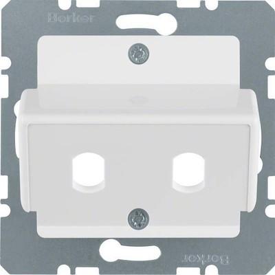 Berker Zentralplatte pws f.LWL-Kupplung 149209