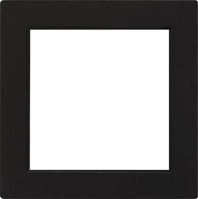 Gira Zwischenplatte (quad) schwarz S-Color 028247