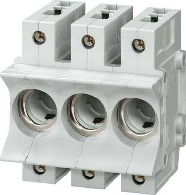 Siemens Indus.Sector Neozed-Sicherungssockel Gr.D02, 3-polig 5SG5701